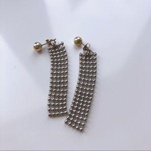 Ball chain earing